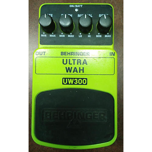 Behringer Ultra Wah Effect Pedal