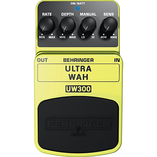 Behringer Ultra Wah UW300 Auto-Wah Effects Pedal