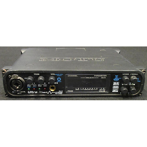 MOTU UltraLite MK3 Hybrid Audio Interface