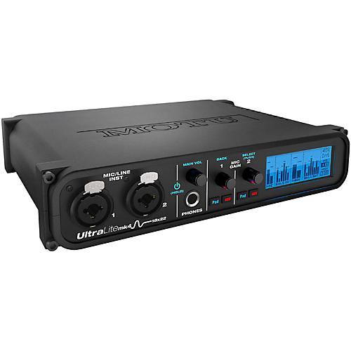 MOTU UltraLite-mk4 Audio Interface