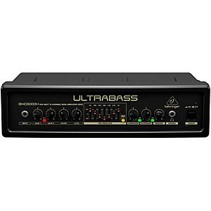 Behringer Ultrabass 300 Watt 2-Channel 7-Band FBQ Equalizer Bass Amplifier ... by Behringer