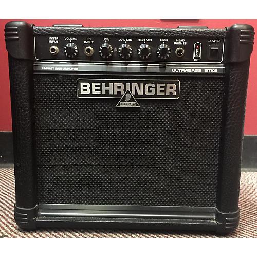 Behringer Ultrabass BT108 Bass Combo Amp