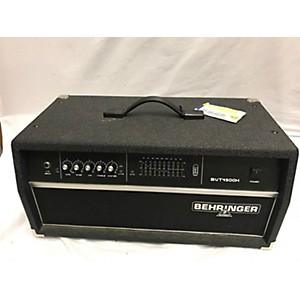 Pre-owned Behringer Ultrabass BVT4500H 450 Watt Bass Amp Head