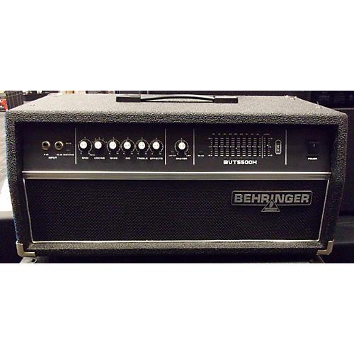 Behringer Ultrabass BVT5500H 550W Bass Amp Head-thumbnail