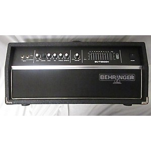 Pre-owned Behringer Ultrabass BVT5500H 550 Watt Bass Amp Head