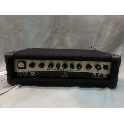 Behringer Ultrabass BX4500H Bass Amp Head-thumbnail