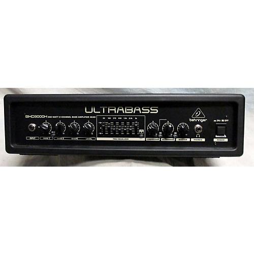 Behringer Ultrabass BXD3000H 300W 2CH Bass Amp Head-thumbnail