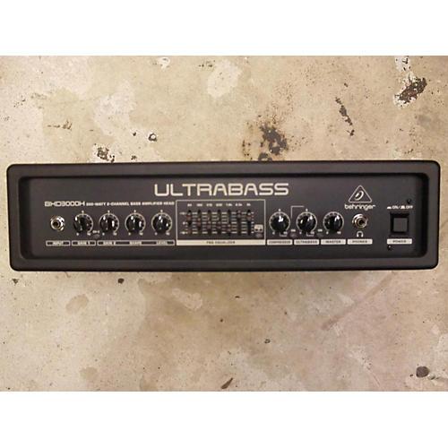 Behringer Ultrabass BXD3000H Bass Amp Head-thumbnail