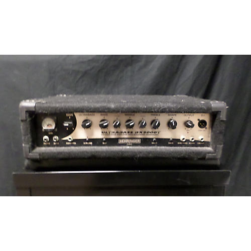 Behringer Ultrabass Bx3000t Bass Amp Head