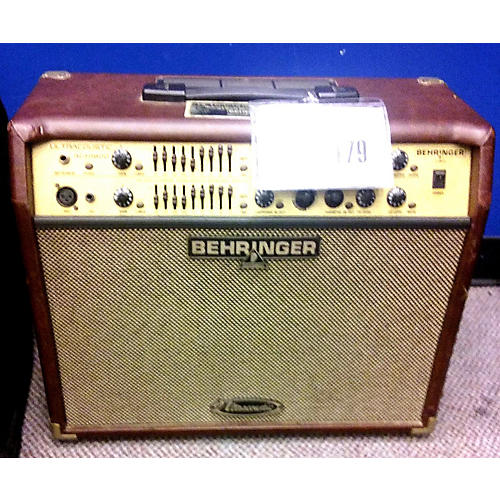 Behringer Ultracoustic ACX1800 Acoustic Guitar Combo Amp-thumbnail
