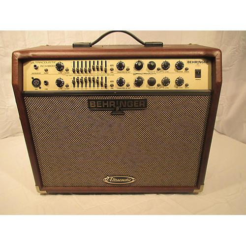 used behringer ultracoustic acx1800 acoustic guitar combo amp guitar center. Black Bedroom Furniture Sets. Home Design Ideas