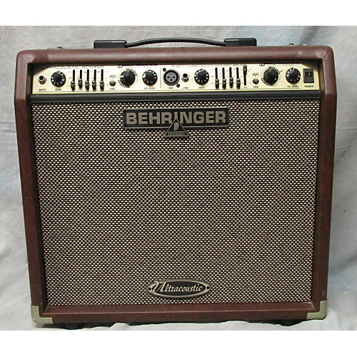used behringer ultracoustic acx450 acoustic guitar combo amp guitar center