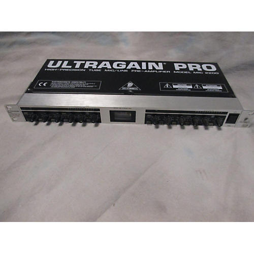 Behringer Ultragain Pro MIC2200 Microphone Preamp-thumbnail