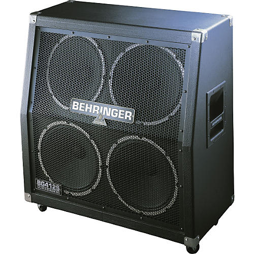 Behringer Ultrastack BG412S 4x12 Stereo Cab with Jensen Speakers-thumbnail