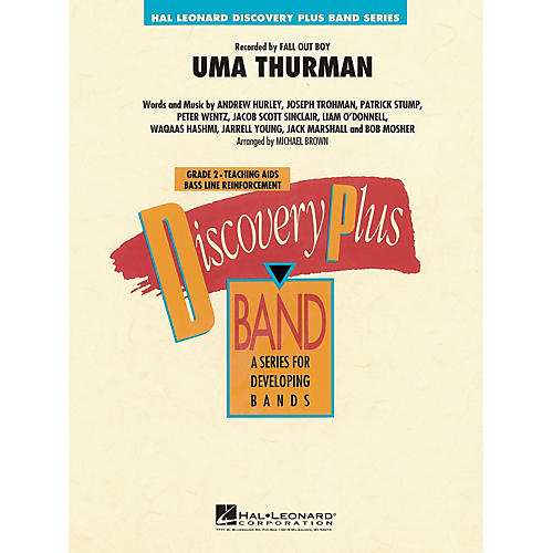 Hal Leonard Uma Thurman - Discovery Plus Concert Band Series Level 2 arranged by Michael Brown