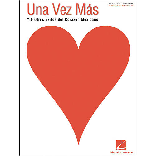 Hal Leonard Una Vez Mas Spanish Piano, Vocal, Guitar Songbook