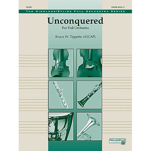 Alfred Unconquered Full Orchestra Grade 5-thumbnail