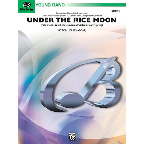 Alfred Under the Rice Moon Concert Band Grade 2-thumbnail