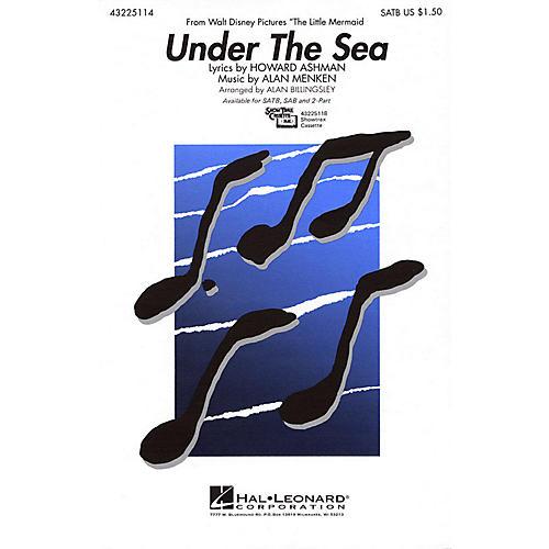 Hal Leonard Under the Sea 2-Part Arranged by Alan Billingsley