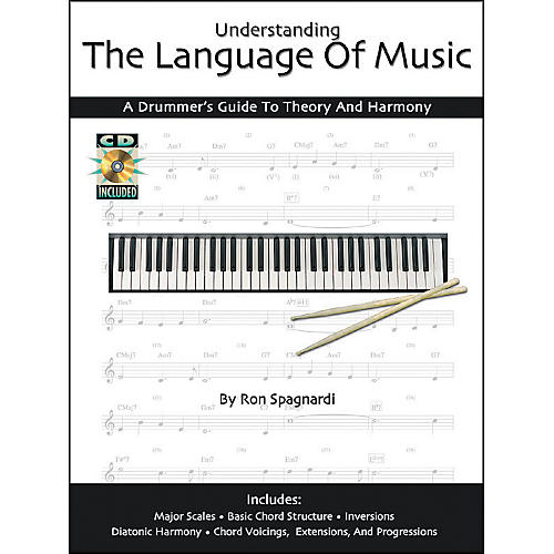 Modern Drummer Understanding the Language of Music: A Drummers Guide Book with CD-thumbnail