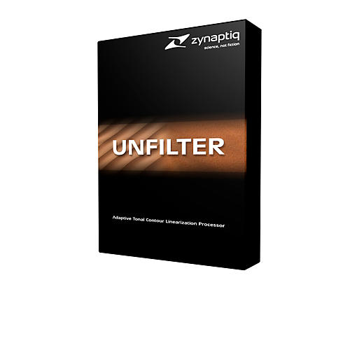 Zynaptiq Unfilter Software Download-thumbnail