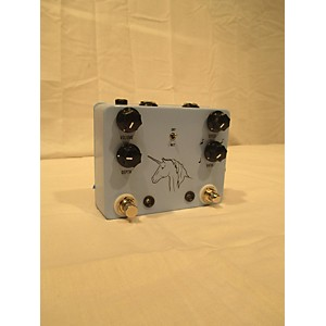 Pre-owned JHS Pedals Unicorn Uni-Vibe Photocell Modulator with Tap Tempo Effect ...