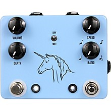 JHS Pedals Unicorn Uni-Vibe Photocell Modulator With Tap Tempo