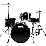 Unity 4-Piece Drum Set with Hardware Black
