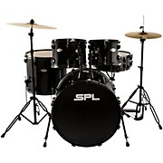 Sound Percussion Labs Unity 5-Piece Drum Set with Hardware, Cymbals and Throne