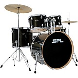 Unity Birch Series 5-Piece Complete Drum Set Black Mist