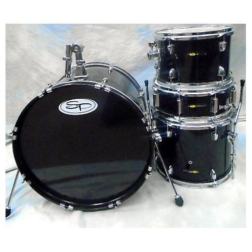 used sound percussion labs unity drum kit black guitar center. Black Bedroom Furniture Sets. Home Design Ideas