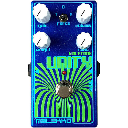 Malekko Heavy Industry Unity MKII Fuzz Guitar Effects Pedal-thumbnail