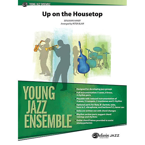 Alfred Up on the Housetop Jazz Band Grade 2-thumbnail