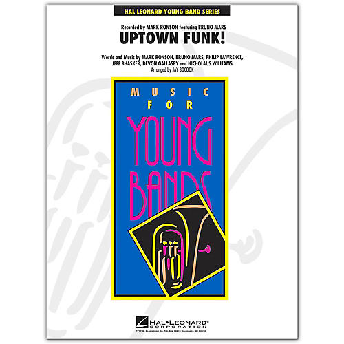 Hal Leonard Uptown Funk! - Young Concert Band Level 3-thumbnail