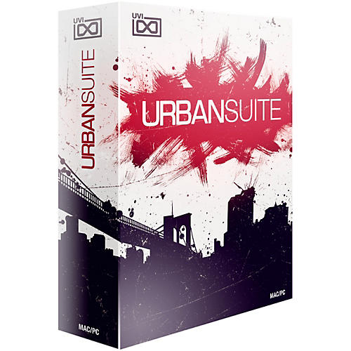 UVI Urban Suite Software Download
