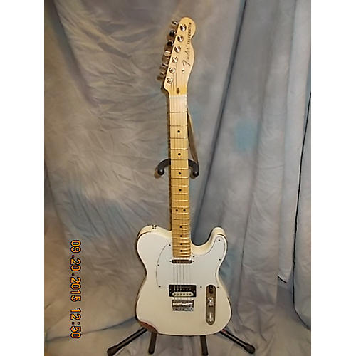 Fender Usa Pro Telecaster HS Olympic White Solid Body Electric Guitar