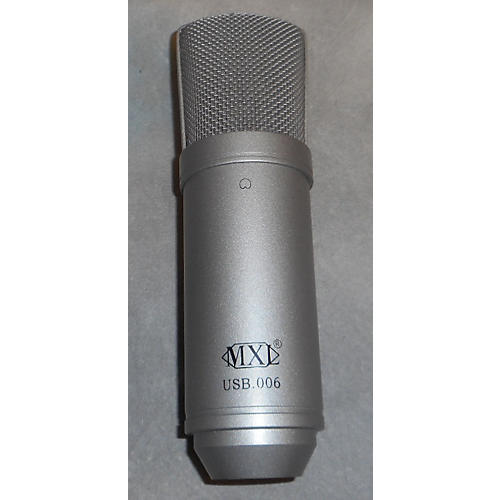 MXL Usb .006 Black And Silver USB Microphone
