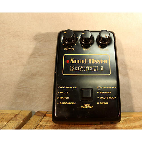 In Store Used Used 1980s Sound Master Rhythm 1 Drum Machine-thumbnail