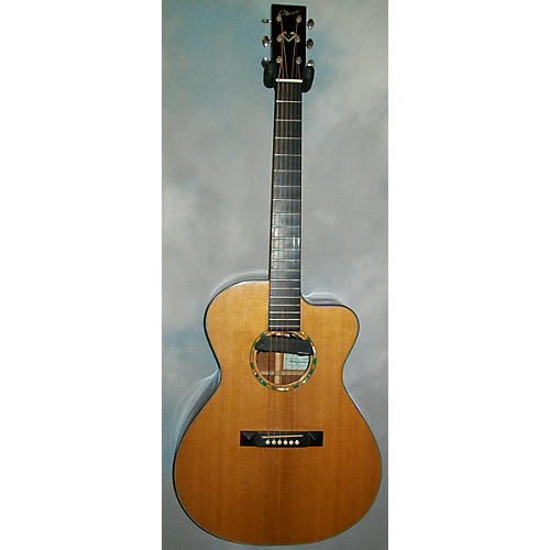 In Store Used Used 2008 Nao NY14 Custom Natural Acoustic Electric Guitar