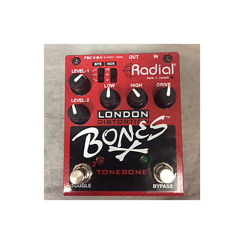In Store Used Used 2010s London DISTORTION BONES TONEBONE Effect Pedal