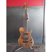 Used 2016 BlackKat SC800 Walnut Solid Body Electric Guitar