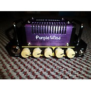 Used 2016 HOTONE NANO LEGACY Purple Wind Solid State Guitar Amp Head