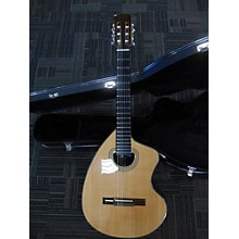 Used 2016 KENNY HILL PLAYER 615S Natural Classical Acoustic Electric Guitar