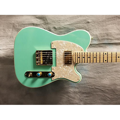 In Store Used Used 2016 Moniker Dixie Seafoam Green Solid Body Electric Guitar