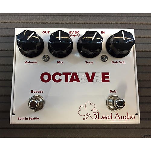 In Store Used Used 3 Leaf Audio Octabvre Effect Pedal