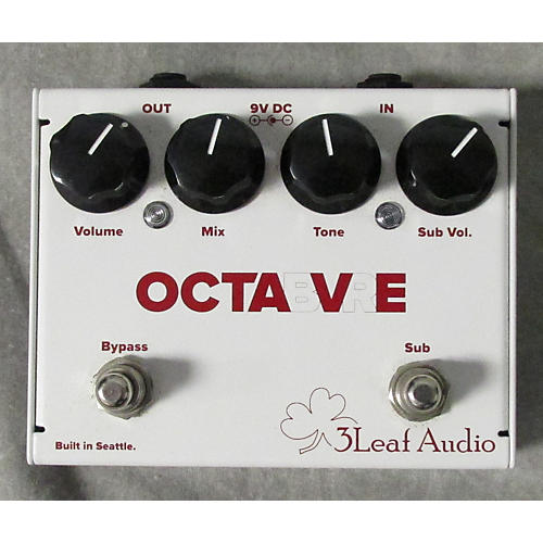 In Store Used Used 3 Leaf Audio Octabvre MKII Effect Pedal-thumbnail