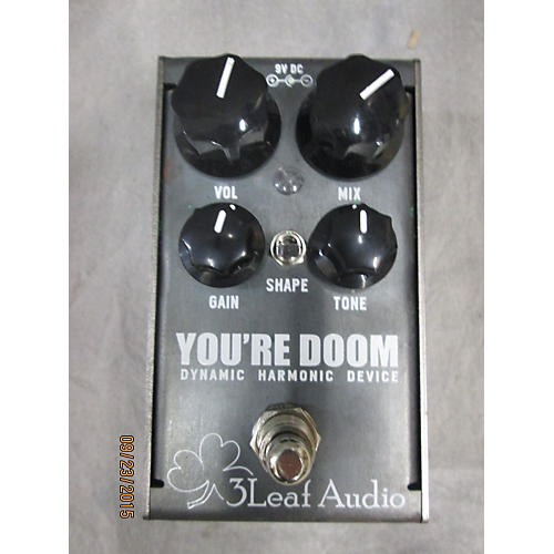 In Store Used Used 3 Leaf Audio You're Doom Effect Pedal-thumbnail