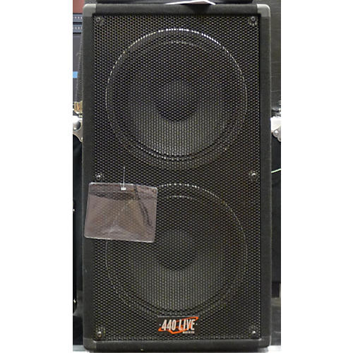 In Store Used Used 440 LIVE 2X12 VERTICAL Guitar Cabinet