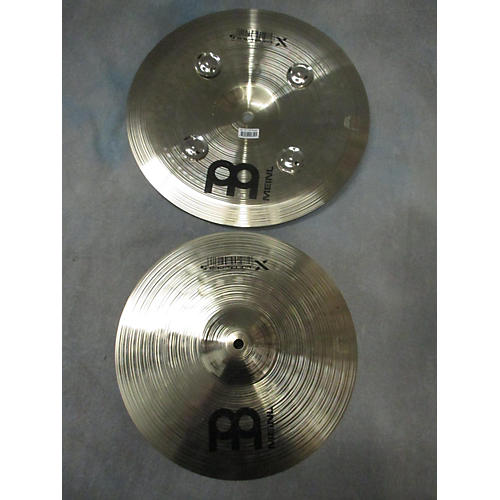 In Store Used Used AA MEINL  12in GENERATION X TRASH HATS