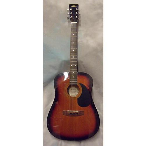 In Store Used Used ABILENE AW015G 3 Color Sunburst Acoustic Guitar-thumbnail